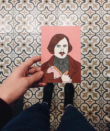Листівка Гоголь