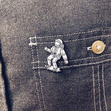 Космонавт на скейте