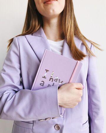 Фіолетовий міні-блокнот для планування I Have a Plan
