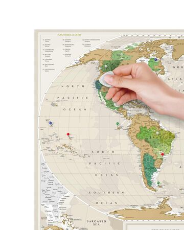 Travel Map Geography