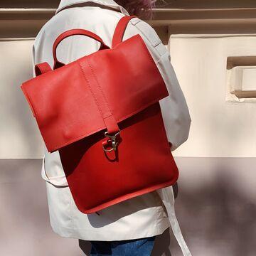 Червоний портфель P009