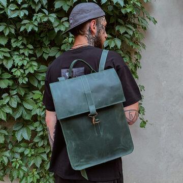 Зелений портфель P009