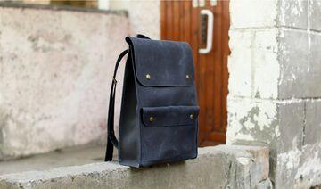 Синій портфель P001