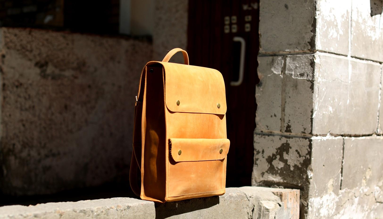 Рудий портфель P001