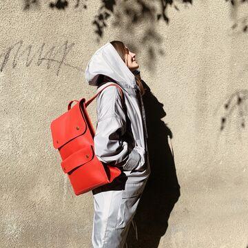 Червоний портфель P001