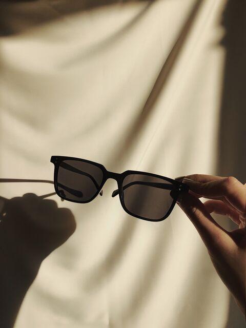Чорні окуляри №55