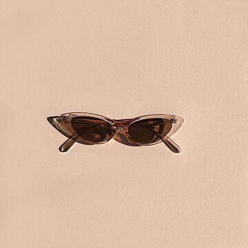 Коричневі окуляри №20