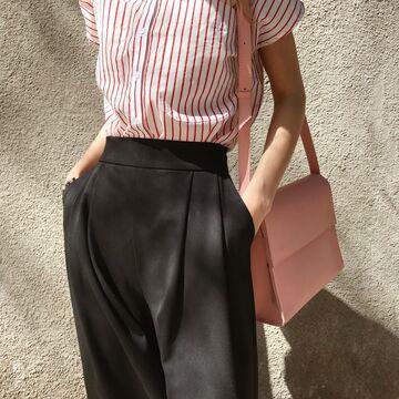 Рожева сумка B026