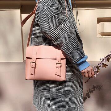 Рожева сумка B010