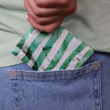 Смугастий гаманець Paper Ninja