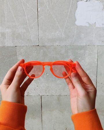 Помаранчеві окуляри №45