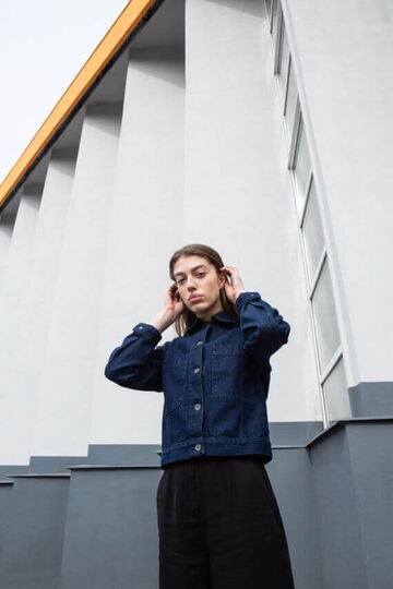 Куртка Work Jacket Indigo