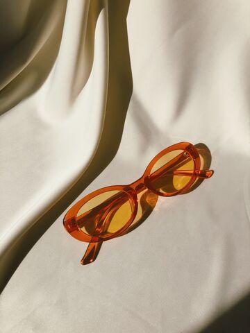 Жовтогарячі окуляри №19