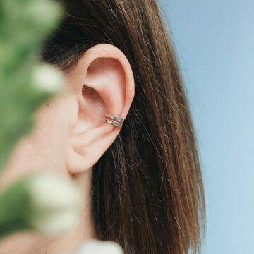 Каф на вухо 2+2 мм/10 мм