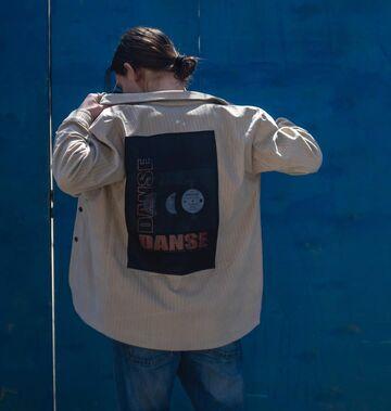 Бежева вельветова куртка Dance Dance SS19