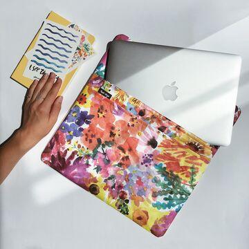 Чохол для ноутбука Квіти 13