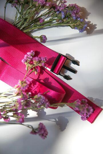 Яскраво-рожевий ремінь з нейлону