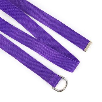 Фіолетовий ремінь з нейлону