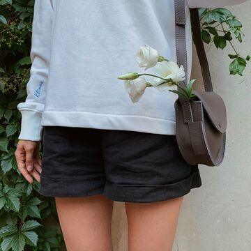 Сіра сумка B019