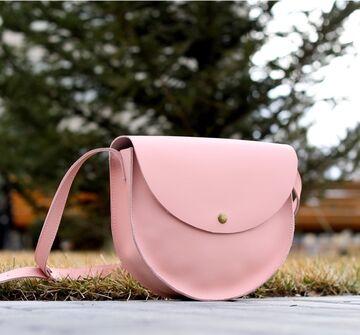 Рожева сумка B019
