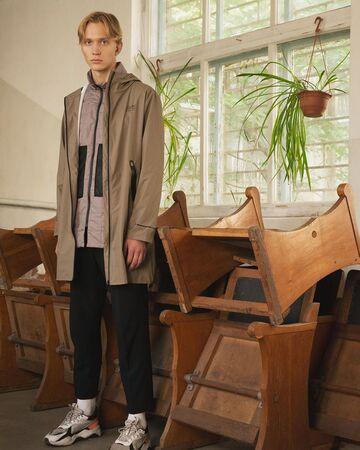 Сірий Liner Jacket