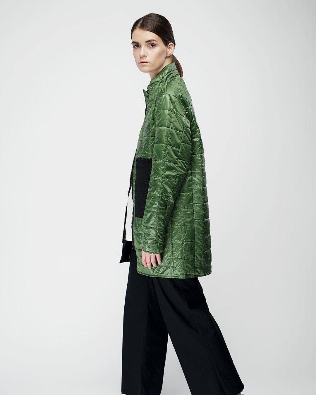 Зелений Liner Jacket