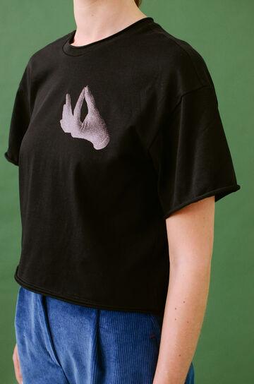 Чорна футболка Slow Life