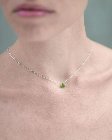 Підвіска Carameli з зеленим трикутником