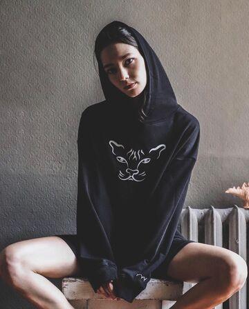 Чорне худі Добрий Кіт