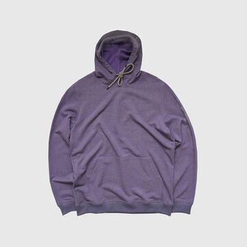 Худі кольору фіолетовий меланж Basic