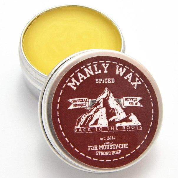 Віск для догляду за вусами Wax Moustaches Original Spiced
