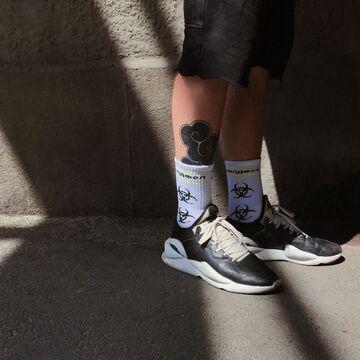 Білі шкарпетки ХимАтака