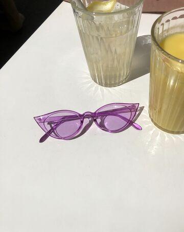 Фіолетові окуляри №7