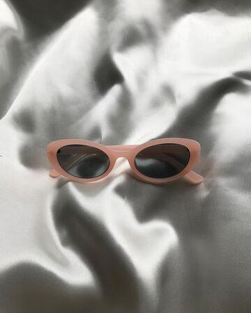 Матові рожеві окуляри №19