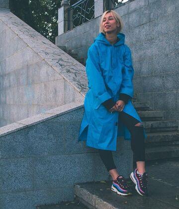 Синій дощовик