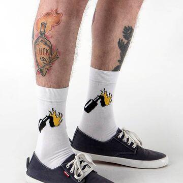 Білі шкарпетки Molotov