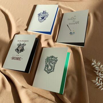 Блокнот Slytherin з білими сторінками