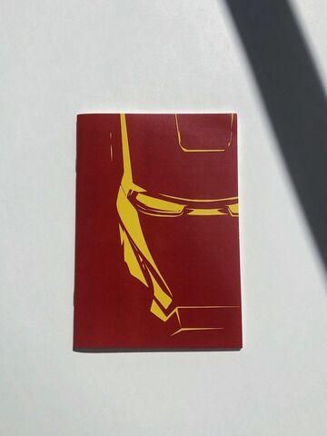 Блокнот Iron Man