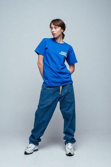 Синя футболка Свой Парень