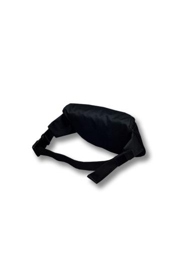 Чорна поясна сумка Hip Bag