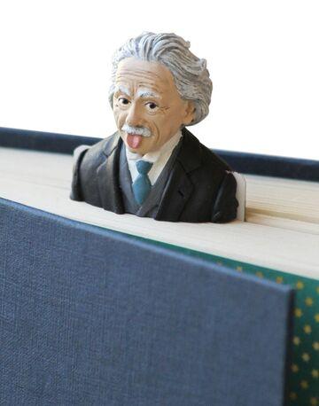 Чорно-біла закладка для книг Einstein