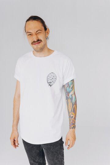 Біла футболка Лимон