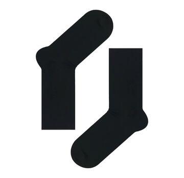 Чорні шкарпетки без резинки