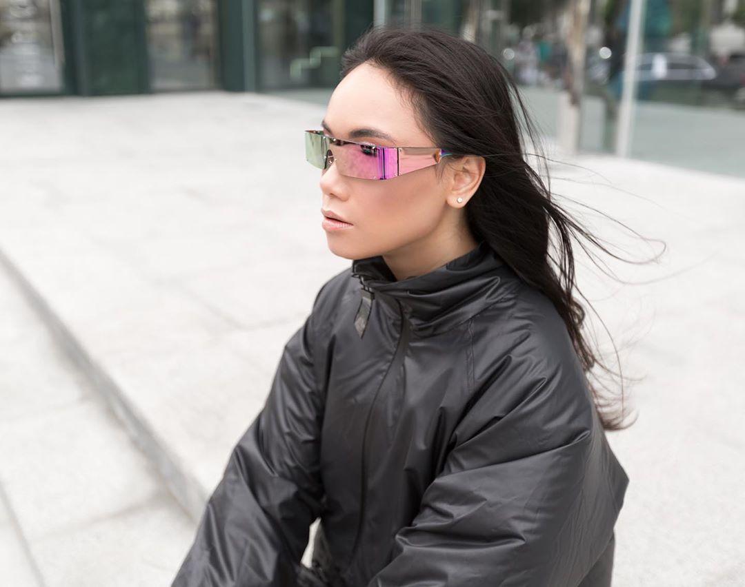 Рожеві окуляри Electroplating