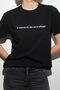 Чорна футболка В кислоте, да не в обиде