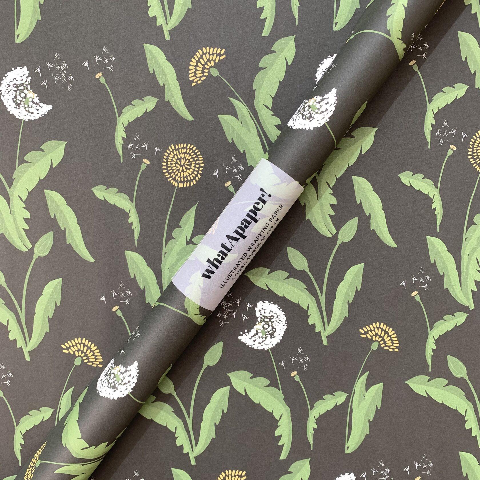 Подарунковий папір для пакування Dandelion