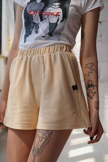 Unisex boxer shorts in  beige