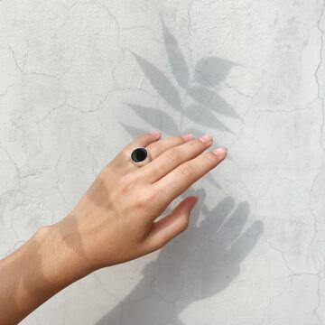Перстень з агатом