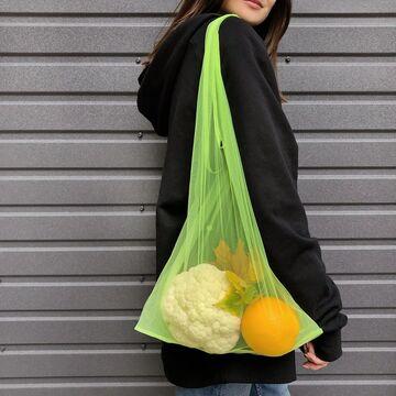 Лимонная сумка через плечо Спасибо Пакет Не Нужен