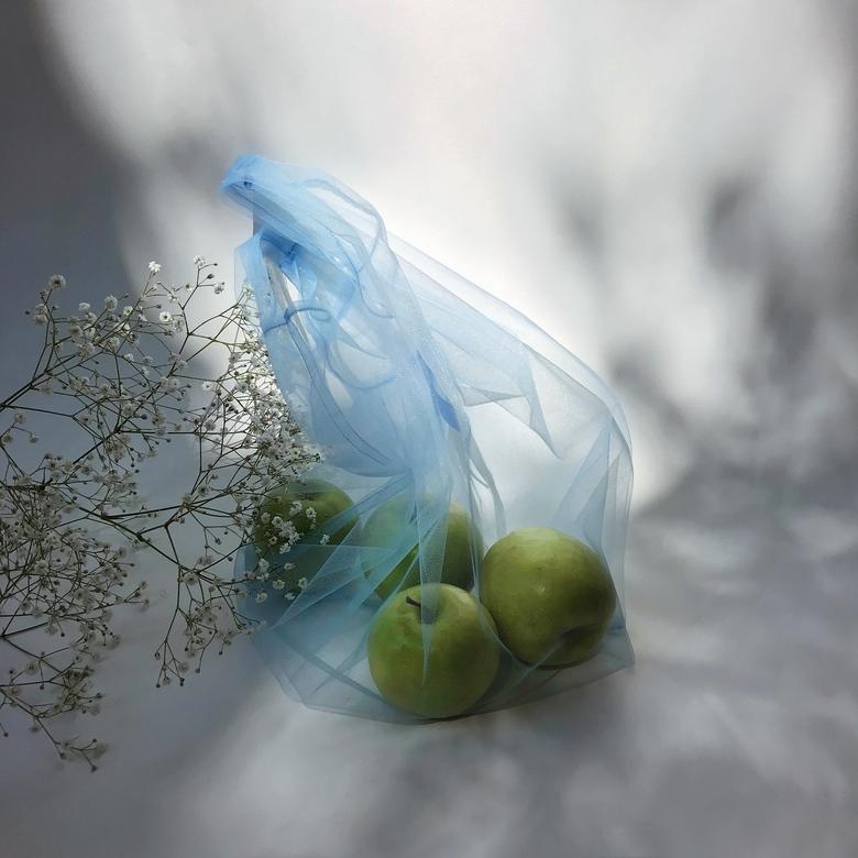 Блакитна сумка Дякую Пакет не Треба